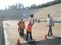 The 23rd Primary School of Keratsini and the 10th Primary School of Kallithea at Panathenaic stadium