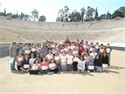The 2nd Primary School of Alimos and the 3rd Primary School of Vyronas at Panathenaic Stadium