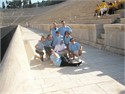 The delegates of Electrolux company at Panathenaic Stadium