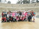The Primary School of Vasillika Thessalonikis, the 3rd School of Peania, the 20th School of Pireas and the School of Multicultural Education of Alsoupoli visited Panathenaic Stadium