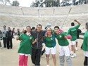 The group of Dolphin Hellas Travel participated in a sport activity event at Panathenaic Stadium