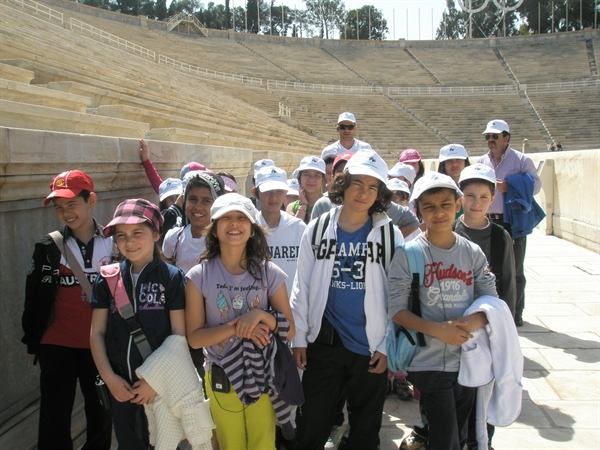 The 2nd Primary School of Agia Varvara at the tour